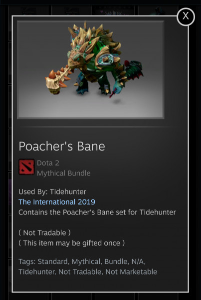 Poacher's Bane (Tidehunter Set)