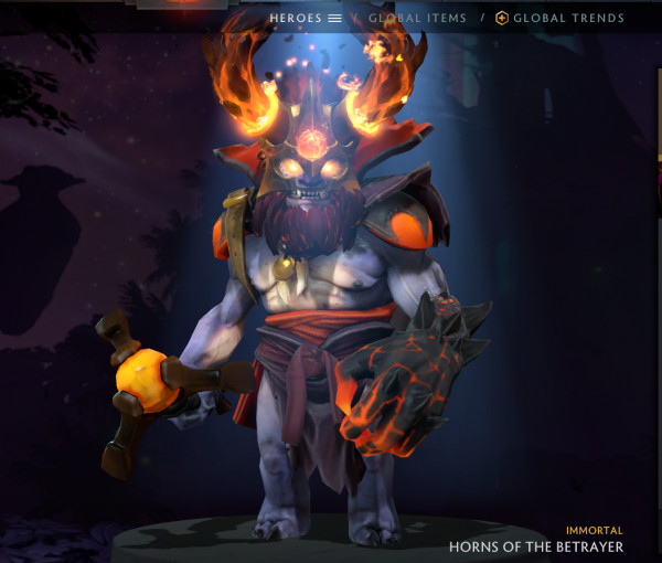 Horns of the Betrayer (Lion Immortal TI9)
