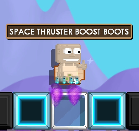 Space thruster boost boots