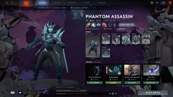Ravening Wings (Phantom Assassin Set)
