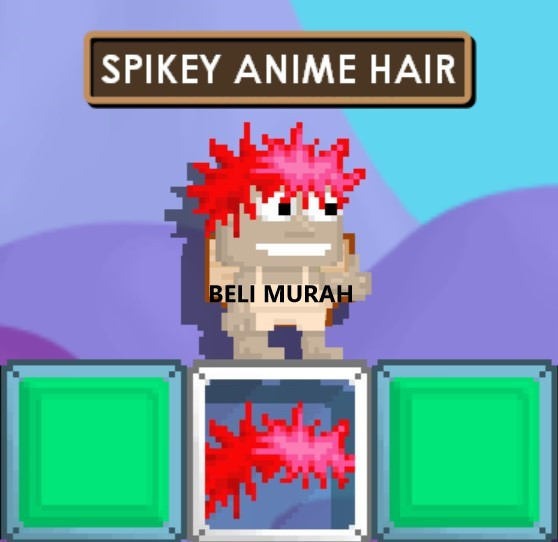 SPIKEY ANIME HAIR
