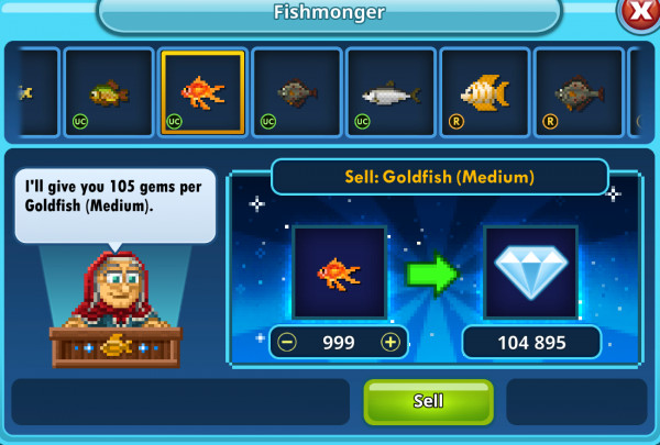 999 Goldfish (Medium)