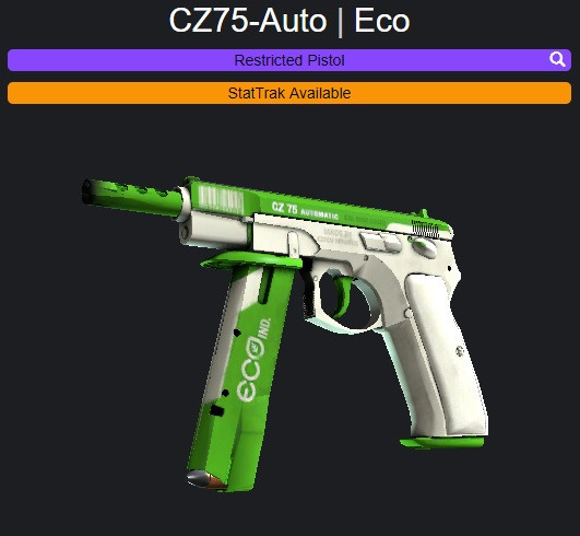 CZ75-Auto | Eco + STICKER