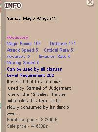 Jual Samael Magic Wings +11 SMW+11 dari Linksys Store | itemku