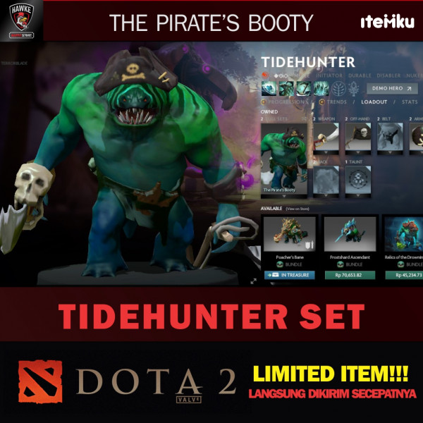 The Pirate's Booty (Tidehunter Set)
