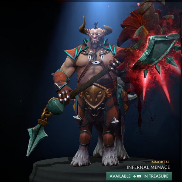 Infernal Menace (Immortal TI9 Centaur Warrunner)