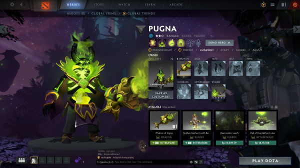 Chalice of Ix'yxa (Immortal TI9 Pugna)
