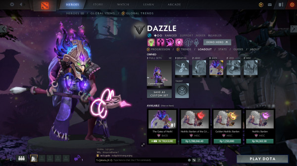 The Gates of Nothl (Immortal TI9 Dazzle)