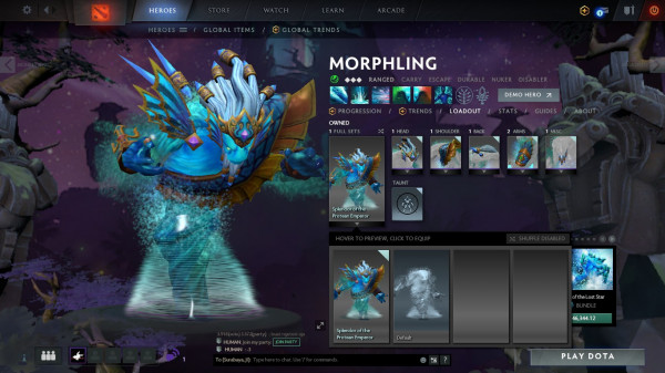 Splendor of the Protean Emperor (Morphling Set)