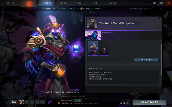 The Arts of Mortal Deception (Enigma Set)