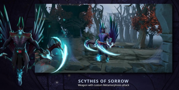 Scythes of Sorrow (Immortal TI9 Terrorblade)