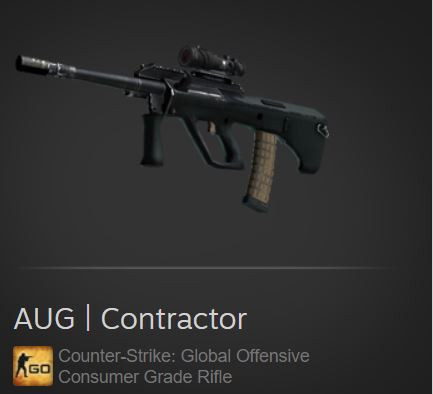 AUG | Contractor (Consumer Grade Rifle)