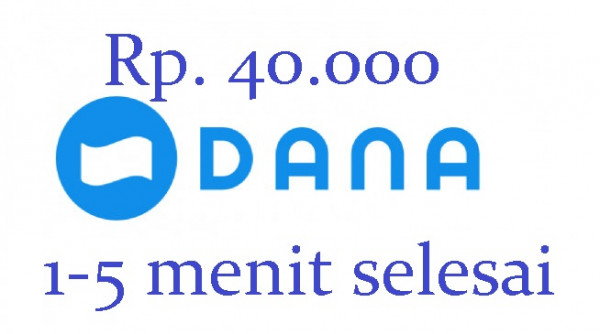 Top-up DANA 40.000
