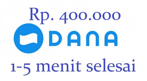Top-up DANA 400.000