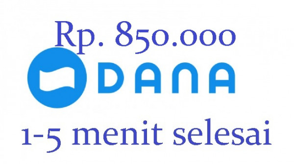 Top-up DANA 850.000