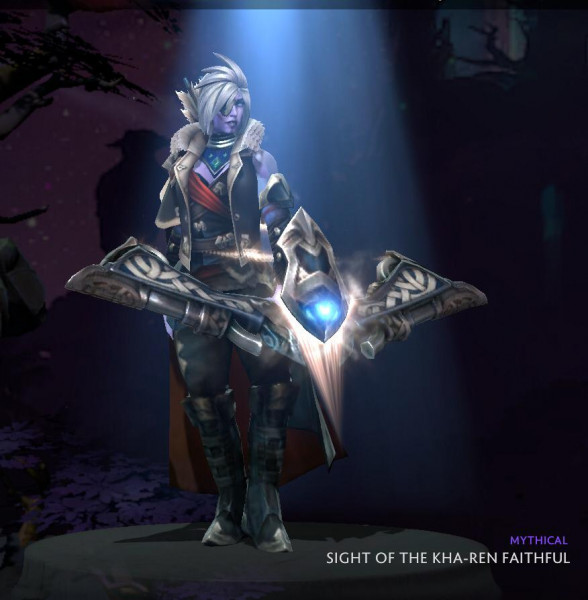 Sight of the Kha-Ren Faithful (Drow Ranger Set) CC