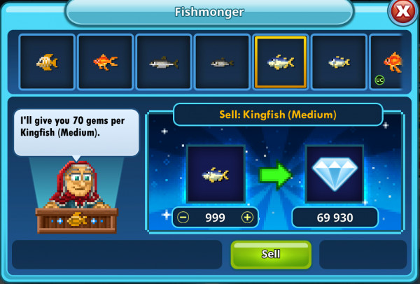 999 Kingfish (Medium)