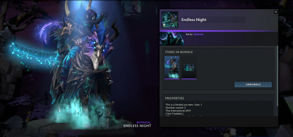 Endless Night (Abaddon Set)