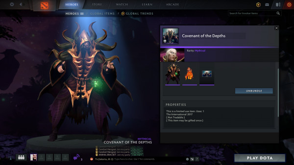 Covenant of the Depths (Invoker Set)