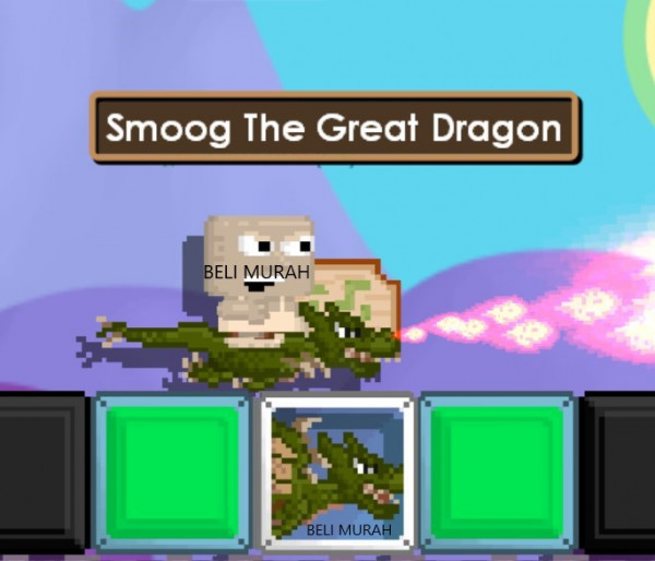 SMOOG THE GREAT DRAGON