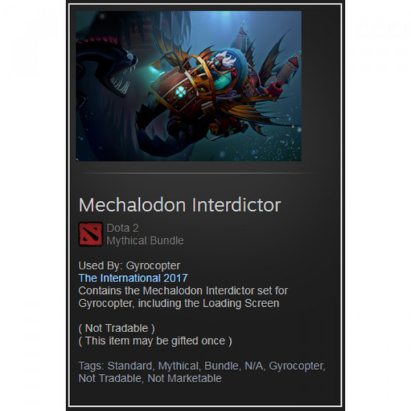 Mechalodon Interdictor (Mythical Bundle Gyrocopter)