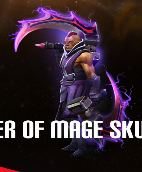 The Basher Blades SEPASANG (Immortal Anti-Mage)