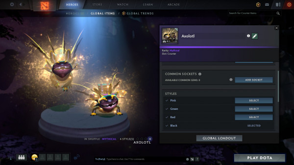 Axolotl (Courier) Full Unlock