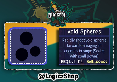 Void Spheres - Dungeon Quest
