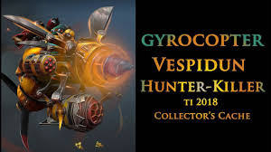 Vespidun Hunter-Killer (Gyrocopter TI8)