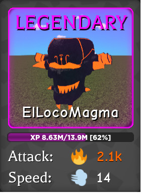 Magma Legendary - Wizard Simulator