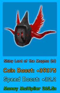 Shiny Lord of The Magma | Magnet Simulator |