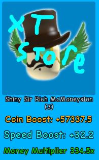 Shiny Sir Rich McMoneyston | Magnet Simulator |