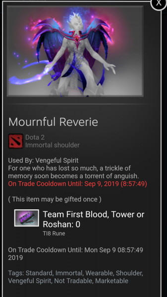 Mournful Reverie (Immortal TI8 Venge)