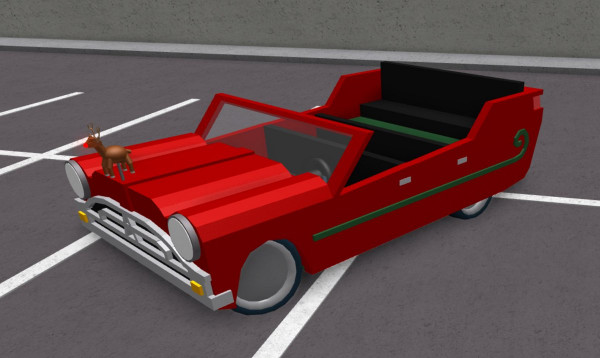 Sleigher Car RoCitizens Christmas edition