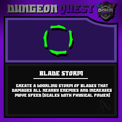 Blade Storm || Dungeon Quest