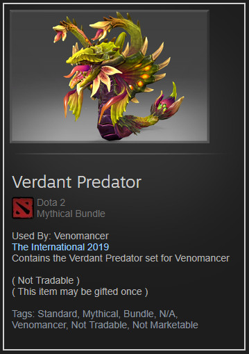 Verdant Predator (Collector Venomancer Set)