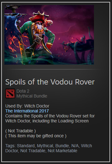 Spoils of the Vodou Rover (Collector Witch Doctor)