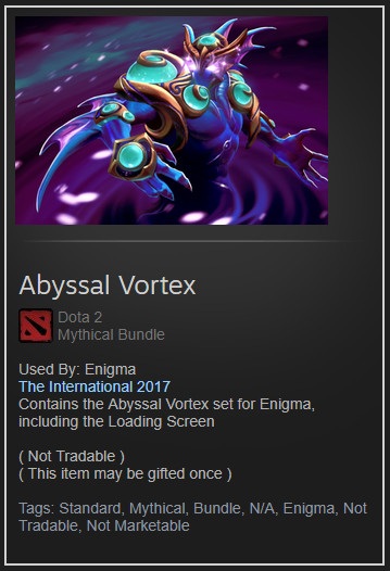 Abyssal Vortex (Collector Enigma Set)