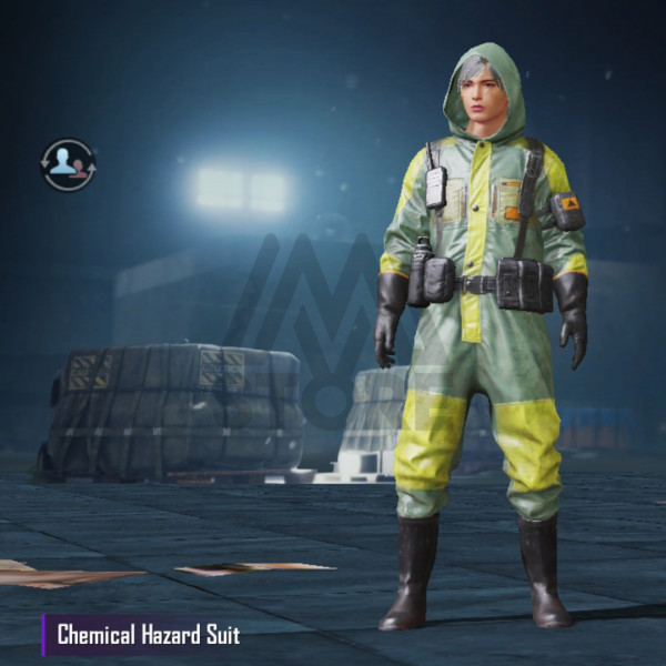 Chemical Hazard Suit