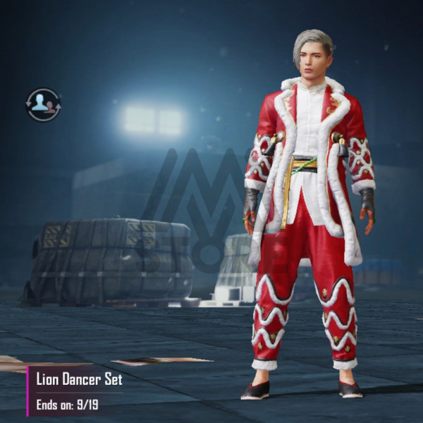 Lion Dancer Set
