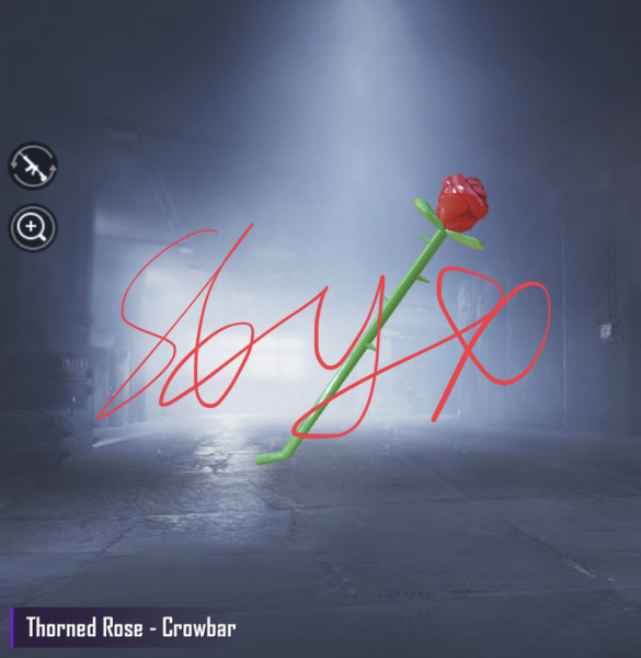 Thorned Rose-Crowbar
