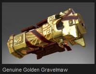 Genuine Golden Gravelmaw (Immortal Earthshaker)