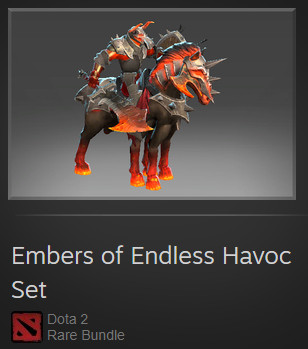 Embers of Endless Havoc (Chaos Knight Set)