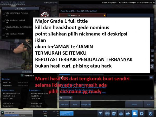 Major Grade 1