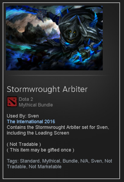 Stormwrought Arbiter (Sven Set)