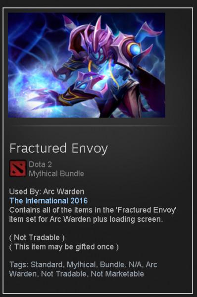 Fractured Envoy  (Arc Warden Set)