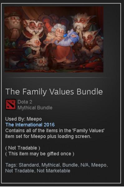 The Family Values Bundle  (Meepo Set)