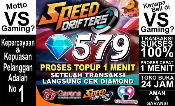 Top Up 579 Diamonds