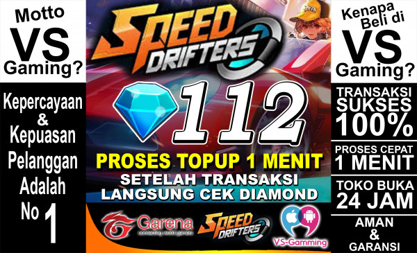 Top Up 112 Diamonds