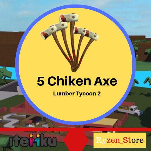 5 Chiken Axe Box-Lumber Tycoon 2